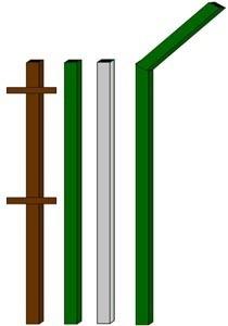изготовление металлические столбы в Владимире
