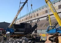 Демонтаж конструкций из металла в Владимире