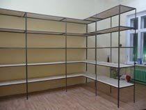 Изготовление, монтаж металлические стеллажи в Владимире и пригороде