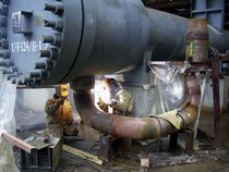 Ремонт металлических конструкций и изделий в Владимире, металлоремонт г.Владимире